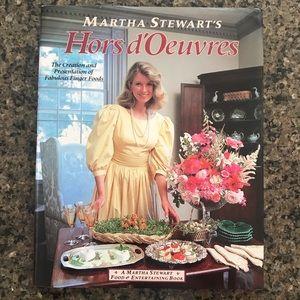 Vintage Martha Stewart's Hors d'Oeuvres! Original!